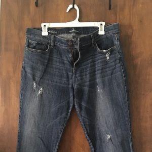 Liz Claiborne Distressed Jeans -Size 14